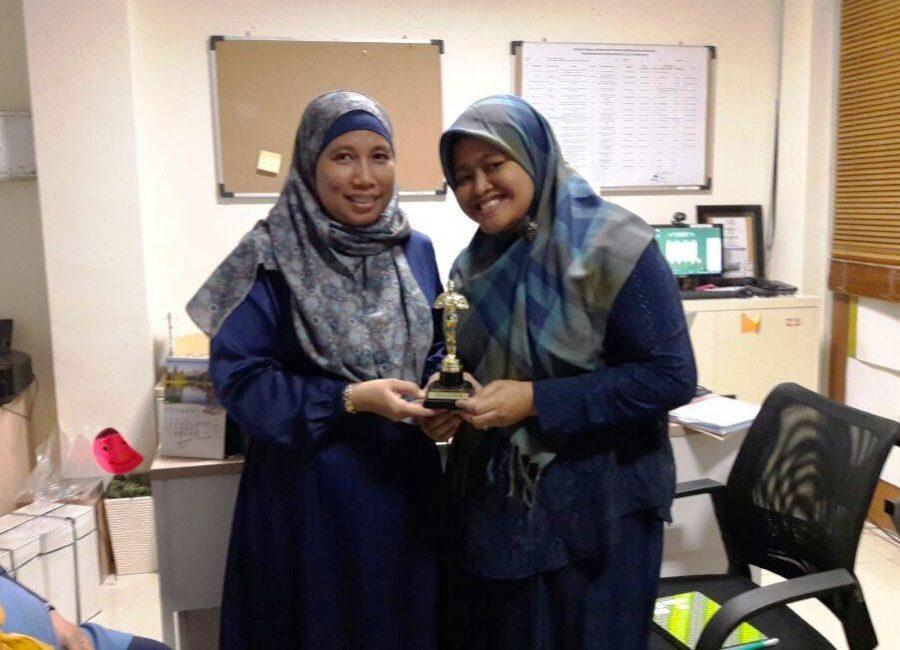 Momen penyerahan 'award' (dok RBP)