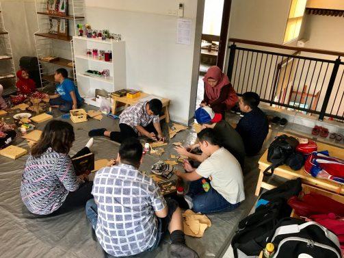 Credo Art Studio Homeschooling Persada Rumah Belajar Persada Mozaik